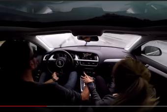 Ki fogta meg ezt a 140 km/órával felúszó Audit?