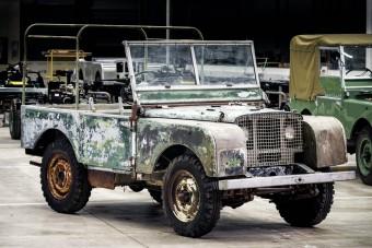 Megtalálták a legeslegeslegelső Land Rovert