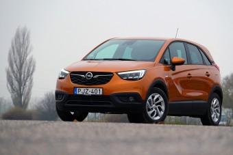 Kívül Opel, belül Peugeot, mi az? - Opel Crossland X