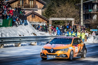 Monte-Carlóban ralizott az F1-pilóta
