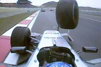 A legdrámaibb utolsó körök az F1-ben - videó