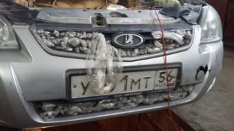 A hideg ellen küzdő autós megölte a motorját