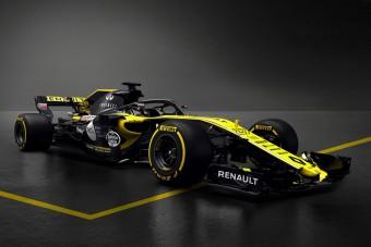 F1: Kamuatót mutatott be a Renault - videó