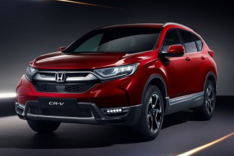 Hét ülés, hibrid hajtás: itt az új Honda CR-V