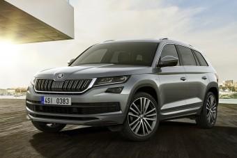 Óriás luxusautóval erősít a Škoda