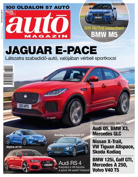 Autó Magazin 2018 február