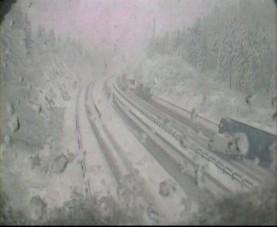 Felénk tart a nagy havazás, Szlovénia már megbénult