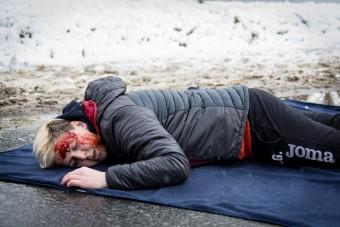 Művérrel sokkoltak a magyar rendőrök