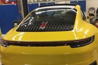 Lebukott a legújabb Porsche 911-es