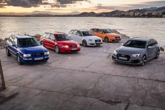 Így lett egyre bitangabb kombi az Audi RS4
