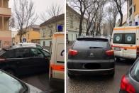 Leszorítottak az útról egy szirénázó mentőt, videó is van az esetről 1