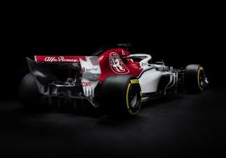 Itt az új Forma-1-es Alfa Romeo - videó