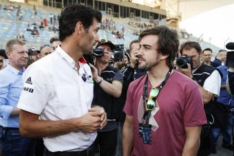 F1: Baráti figyelmeztetés Alonsónak