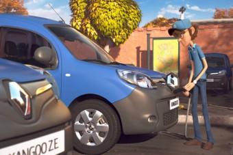 Rajzfilmben mesélik el a franciák, miért jó a villanyautó