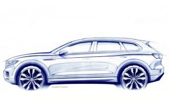 Márciusban érkezik a vadonatúj Volkswagen Touareg