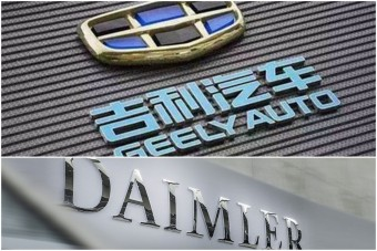 A Volvo kínai tulajdonosa megvette a Mercedes anyacégét