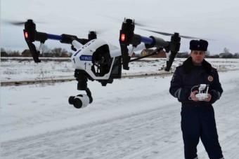 Drónokról kamerázzák a gyorshajtókat Oroszországban
