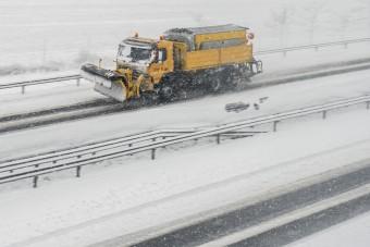 Elkezdődött a tél a magyar utakon