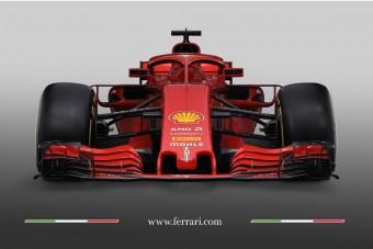 Ritka videó, így matricáznak fel egy F1-es autót