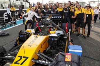 F1: Hülkenberg tagadja a lazázást