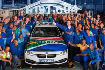Leállítják a 3-as BMW gyártását Dél-Afrikában