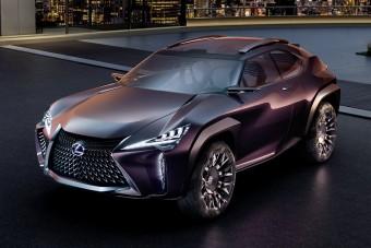 Márciusban jön a legkisebb Lexus