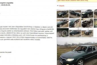 Szerelmi viszály miatt eladó szerencsétlen Mazda