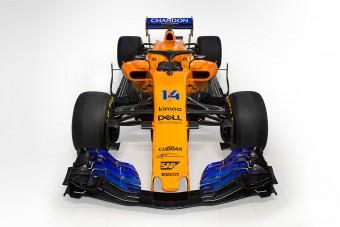 F1: Megjött a narancs-kék McLaren is - videó