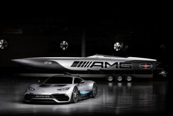 3100 lóerős hajót küld vízre a Mercedes-AMG