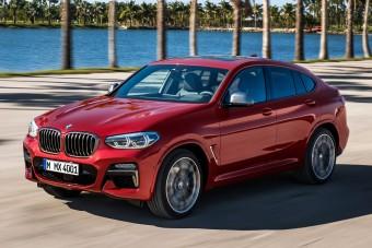 Érkezik a vadonatúj BMW X4
