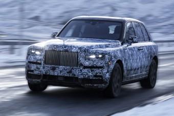 Tényleg Cullinan lesz a Rolls-Royce hiper-SUV-ja