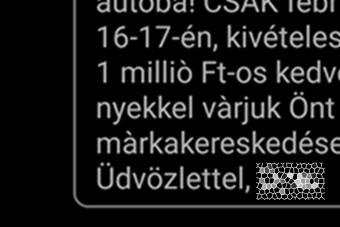 Te megkaptad az év SMS-ét? 1 millió forintot ér