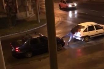 Szombathelyről érkezett a hétvége legszürreálisabb videója