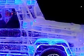 Az UAZ-ból készített jégautó valami eszméletlen menő