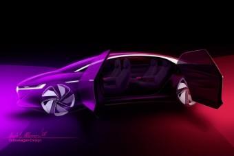 Önmagát vezeti a Volkswagen új villanyautója