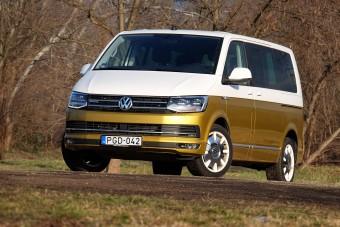 Trendi retró busz 30 milláért: VW Multivan Bulli