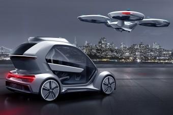 """Az Audi """"örökre átírja a városi közlekedést"""""""