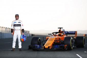 Alonso: A McLaren 100 százalékos