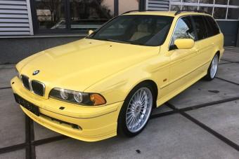 Igazi ritkaság ez a bitang családi BMW