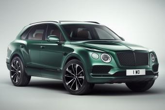 Lóversenyre csakis ezzel a Bentley-vel, kérlek