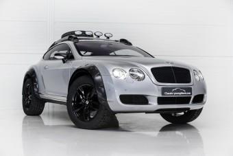 Felejtsd el a Lada Nivát, dagonyára itt ez a Bentley!