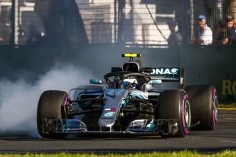 F1: Így törte össze Bottas a Mercit - videó