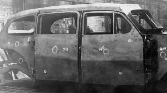 Sosem látott képek kerültek elő Sztálin páncélozott autójáról