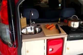 Minek konyha egy villanyautóba?