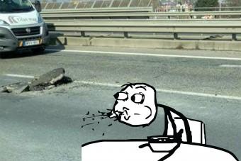Ez a 10 fotó mutatja, hogy miért életveszélyes az M1-esen autózni