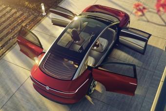 Volkswagen I.D. Vizzion: Klubhelyiség négy keréken