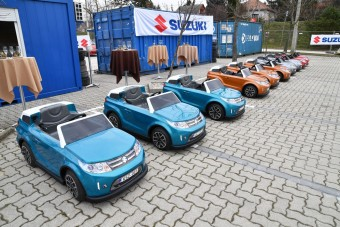Hihetetlen extrája is van a magyar gyerek-Suzukinak