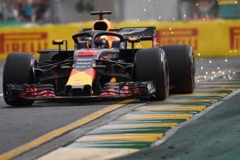 F1: Ricciardót bokán lőtték Melbourne-ben