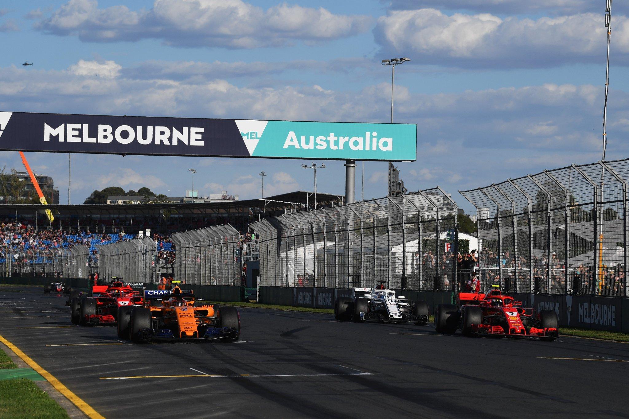 2018 Forma-1 Ausztrál Nagydíj