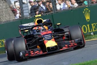 F1: Törött autóval is beért Verstappen